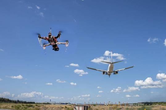 无人机用于航空旅行