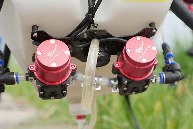 植保无人机避免水泵出现故障的措施