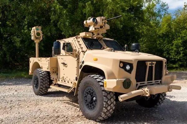 车载平台安装的紧凑型激光武器系统