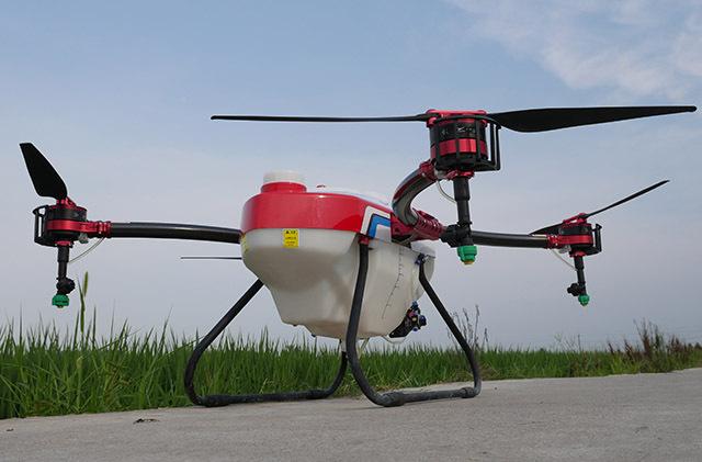 植保无人机喷头对飞防作业效果的影响