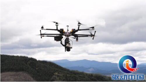 无人机新用途:森林高速播种