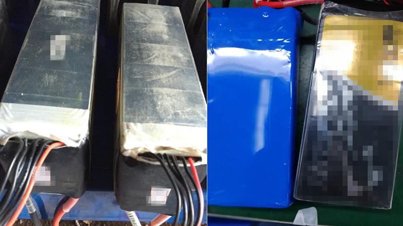 不同规格并联充电、新旧电池混用