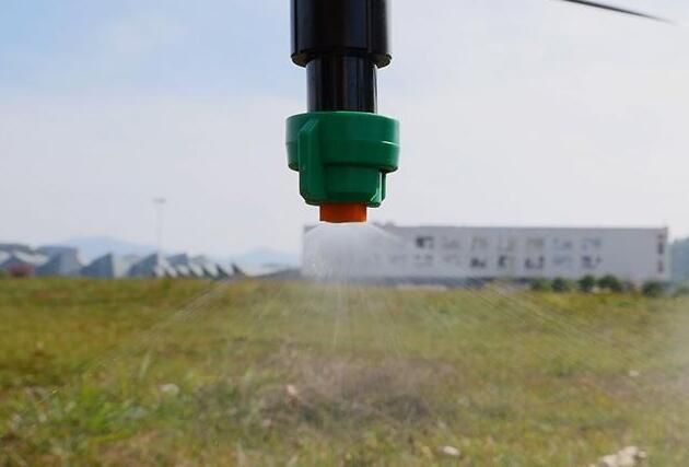 超低容量喷雾情况下也有好的治理效果。