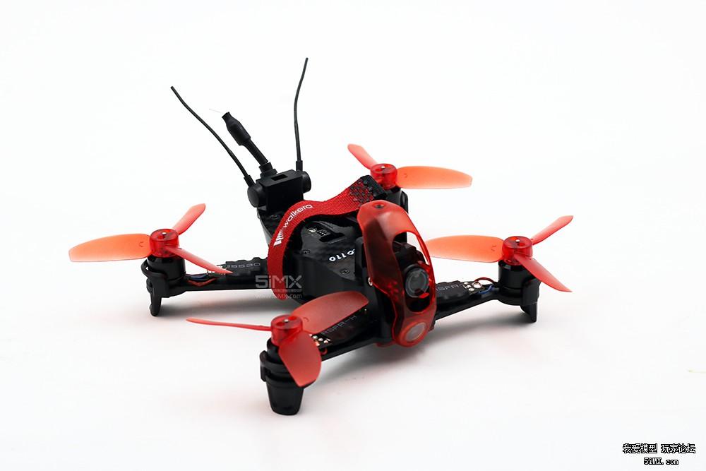 华科尔Rodeo 110穿越机短轴距,轻量化设计