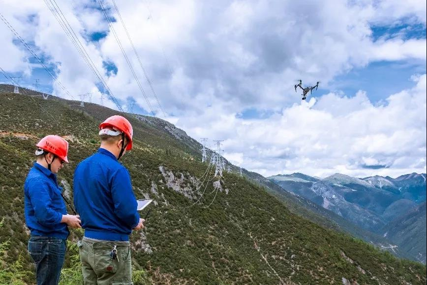 无人机电网巡检如何克服高海拔极端环境考验?插图