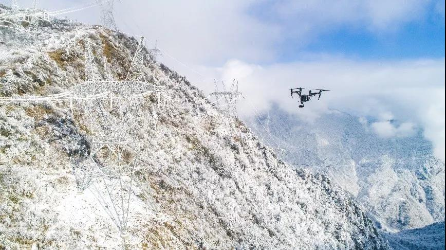 无人机电网巡检如何克服高海拔极端环境考验?
