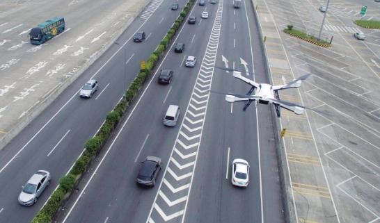 公安无人机用于智慧交通管理
