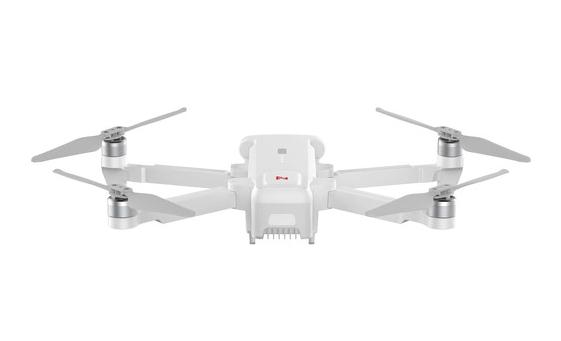 飞米无人机朝下的摄像头可以识别可选的启动板,以帮助无人机完美降落。