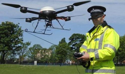 无人机用于公安部门的好处、优点及面临的挑战