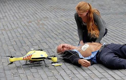 无人机对执法和急救人员的好处