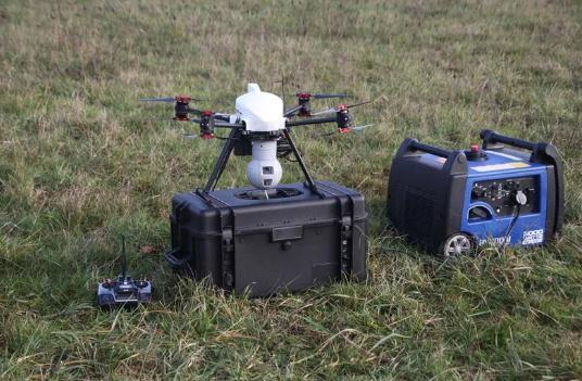 系留无人机的作用在下面几个新领域得到充分体现