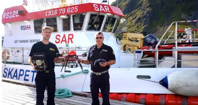 海上救援无人机:必不可少的新工具