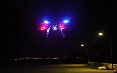 海事监管救助无人机夜间飞行