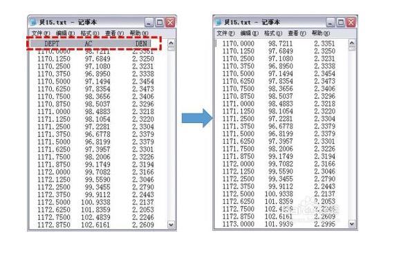 LAS文件格式