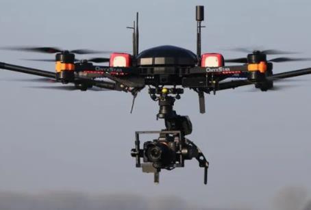 基于无人机的激光雷达,用于航空测量任务