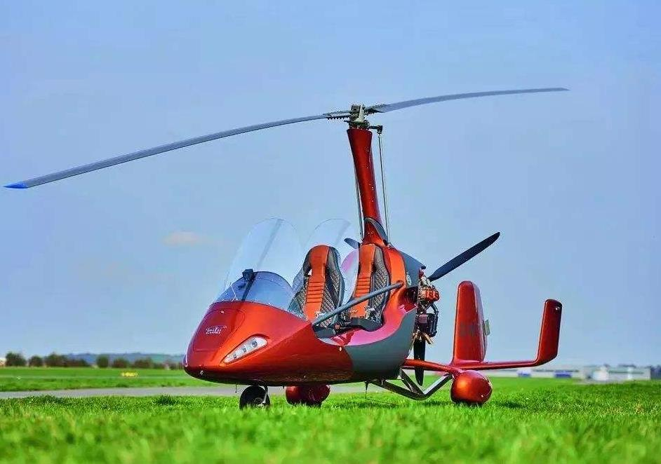 旋翼机的起飞方式
