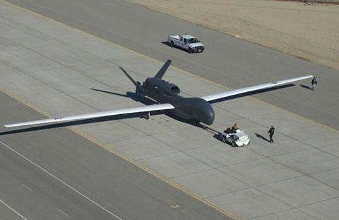 全球鹰无人机的侦测套件