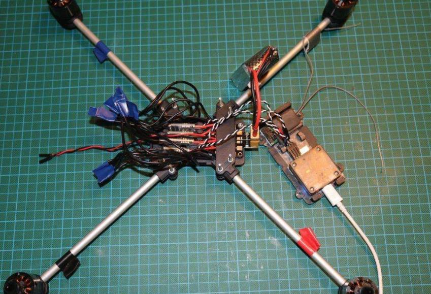 四轴飞行器自制教程 航拍飞行器自制教程