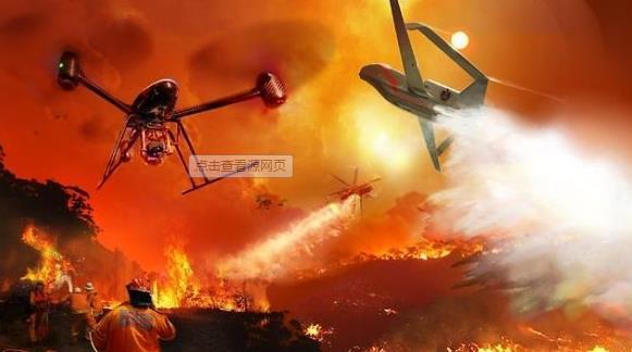 消防无人机工作原理