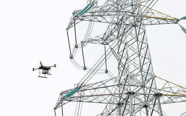使用RTK技术进行无人机变电站巡检