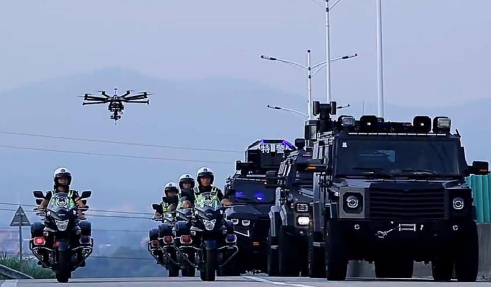 无人机可以迅速飞往暴恐区域