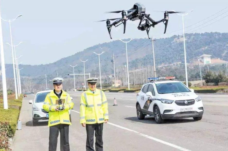 无人机可以收集交通数据