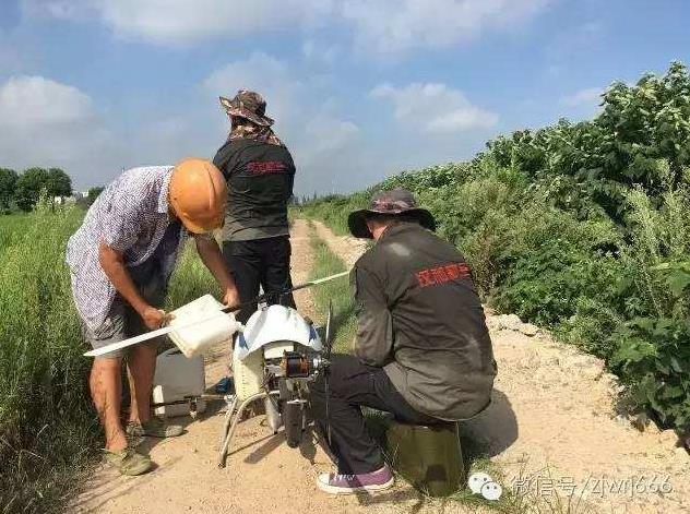 植保作业是一个需要多人配合的一个工作