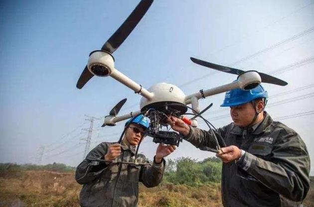 无人飞机自动飞行巡线
