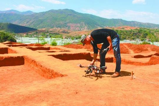 考古遥感航摄作业