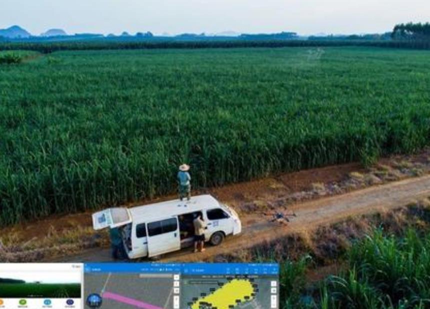无人机植保大数据产业平台