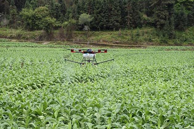 植保无人飞机安全地使用农药