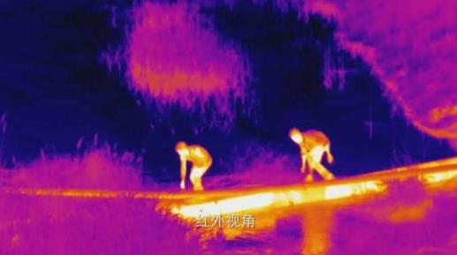 热成像无人机的技能快速寻人