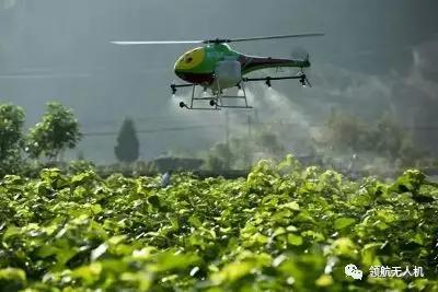 农业的农用飞机。