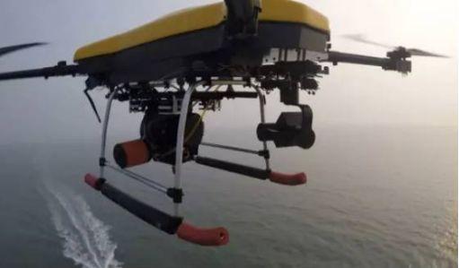 油电混合多旋翼无人机