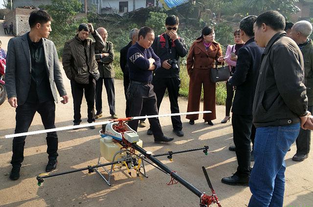 无人机在农业领域的应用是越来越广泛