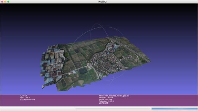Mesh航测软件