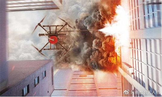 无人机如何破解高层建筑灭火难题