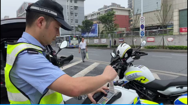 无人机的应用交警执法