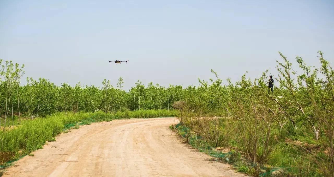 植保无人机喷药服务的安全性是很高的