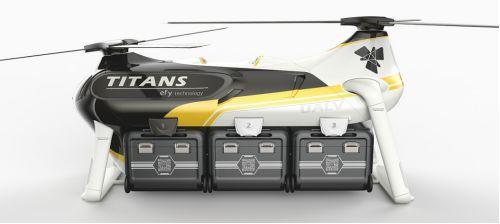 浅析旋翼无人机飞行平台构型特点及应用插图10