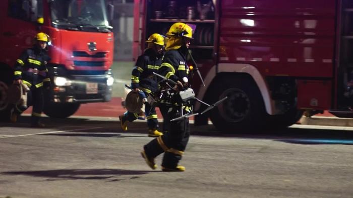 大疆消防专用热成像无人机行业应用