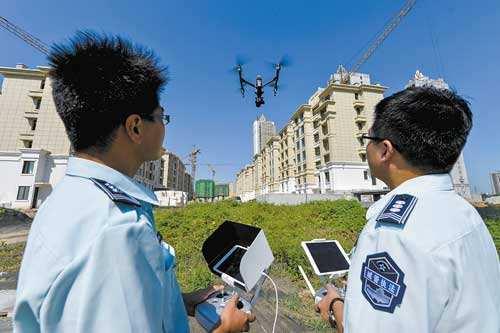 低空拍照取证,无障碍搜索违章建筑