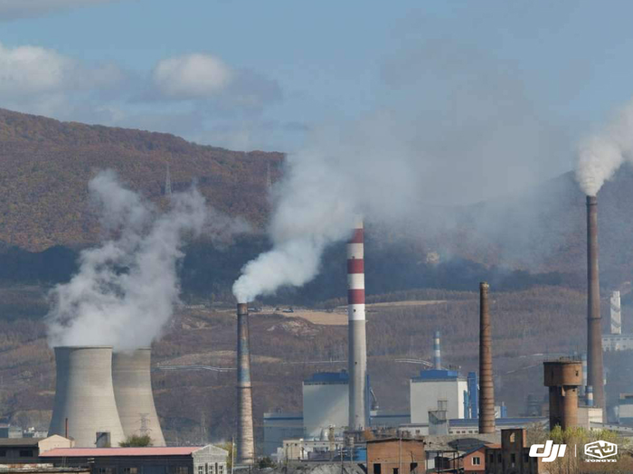环境污染源工厂废气排放