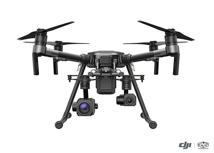 大疆M210搭载30倍光学变焦相机与XT热成像相机