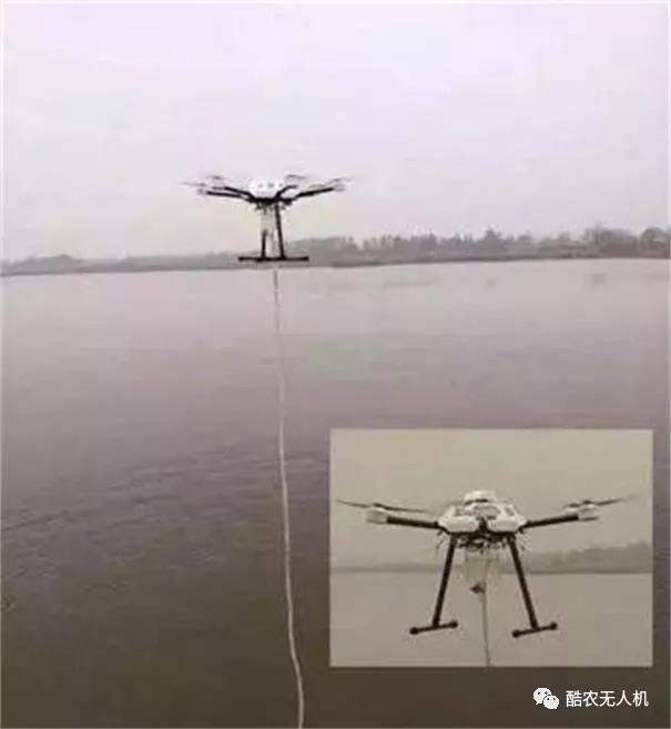 多旋翼无人机水质抽样检测