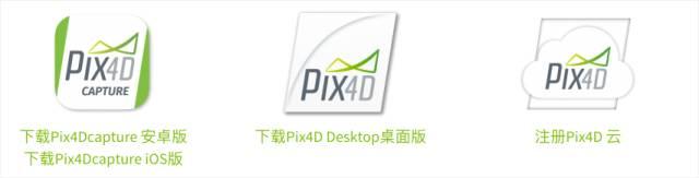 Pix4D航测系列的软件