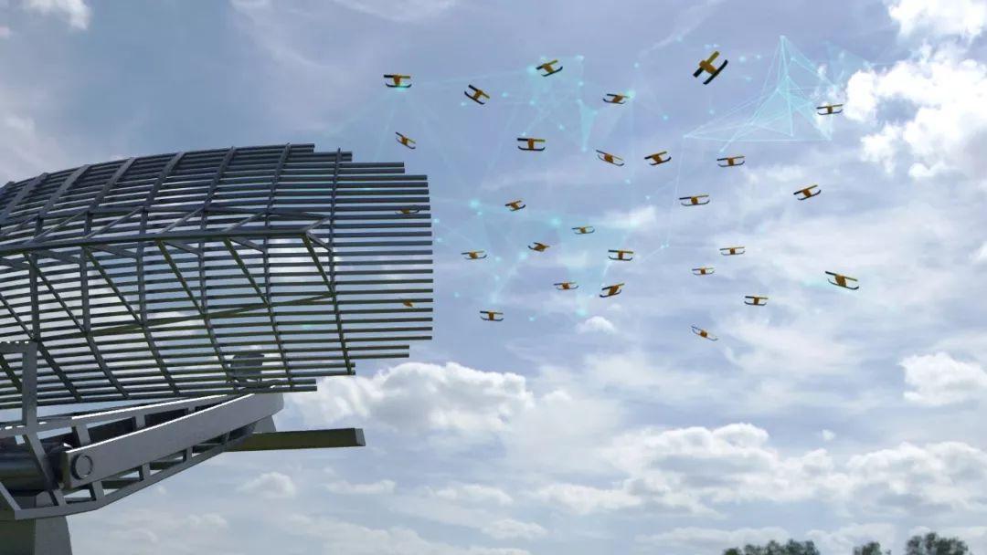 无人机集群攻击模式