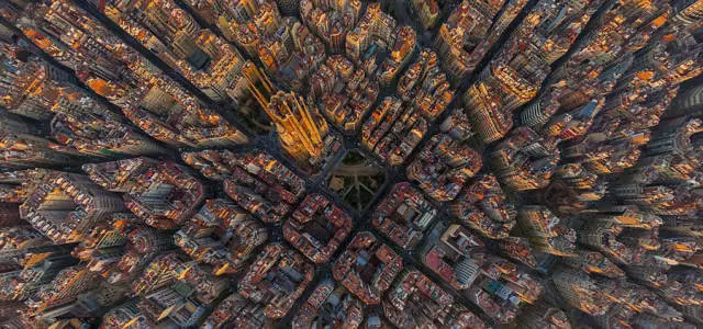 西班牙的巴塞罗那