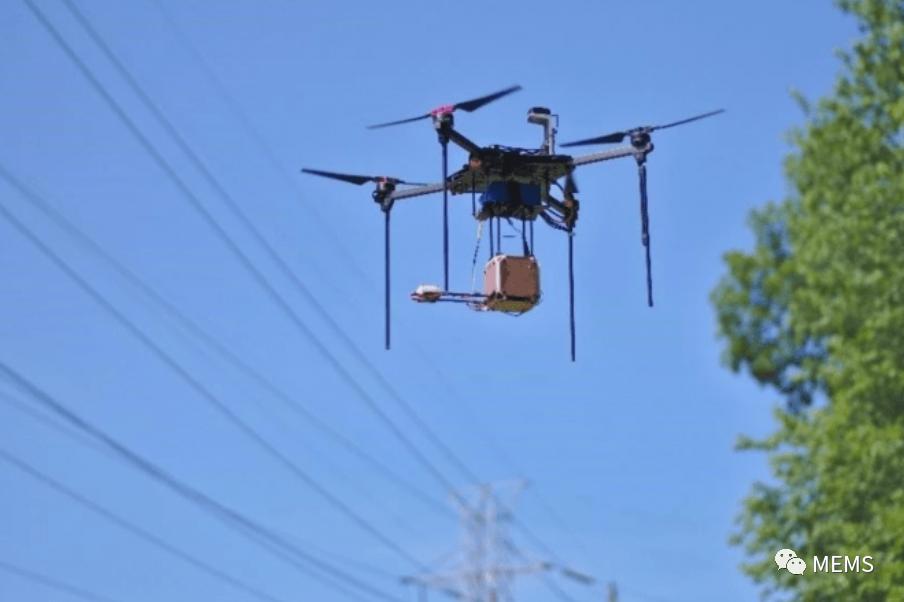美国新型传感器系统助力无人机避开电力线