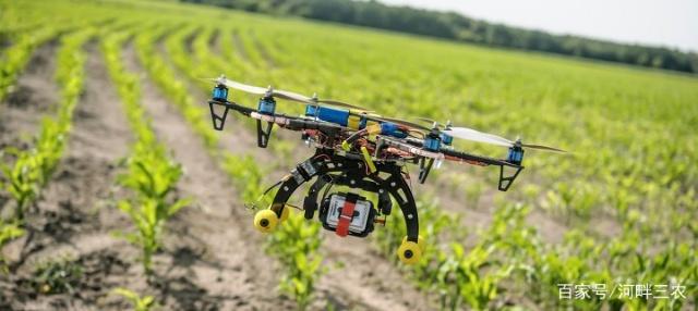 无人机取代了大部分农业工作